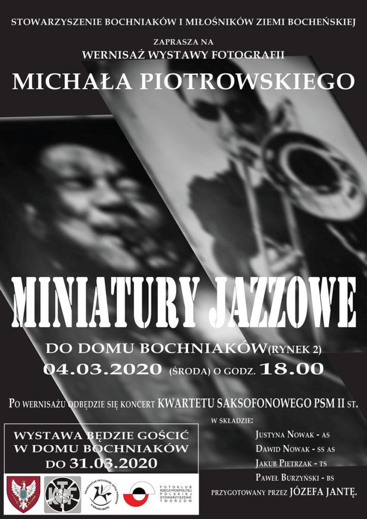 Wystawa Miniatury Jazzowe