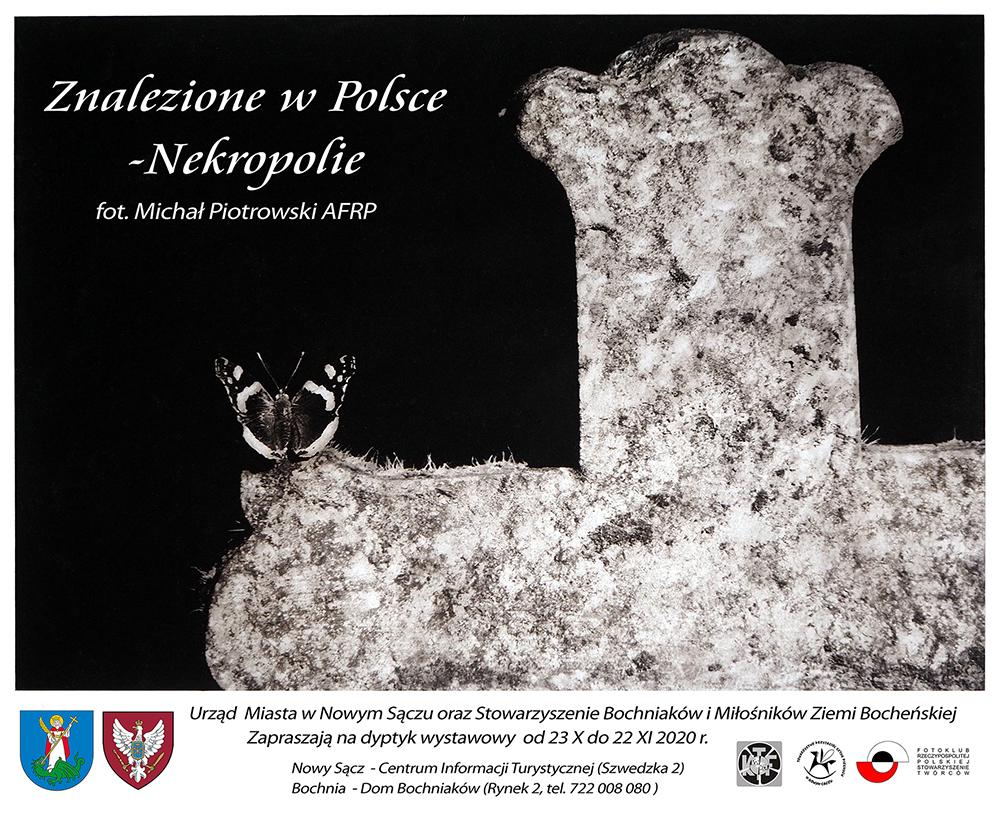 Nekropolie - cykl Znalezione w Polsce
